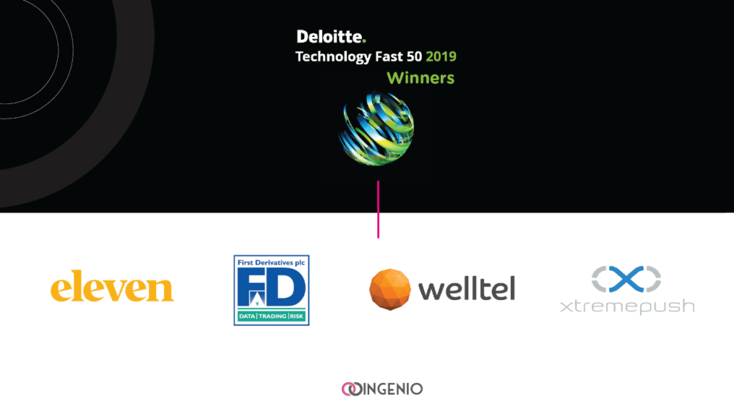 Deloitte Technology Fast 50 Awards Ingenio